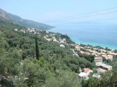 Urlaubsort, Barbati, Griechenland