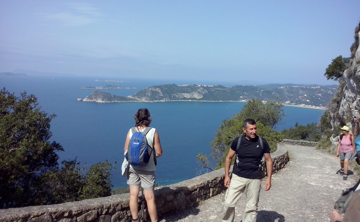 Wandern auf Korfu Wanderführer