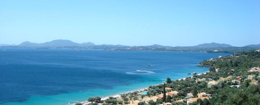 Urlaubsinsel, Korfu, Strand